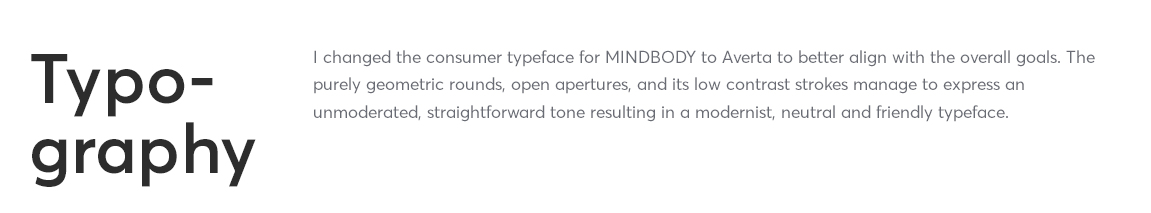 MINDBODY type intro